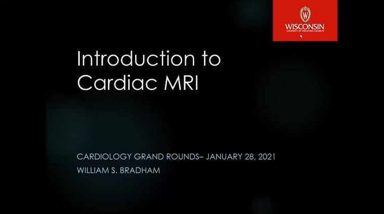 Picture from Cardiac MRI video