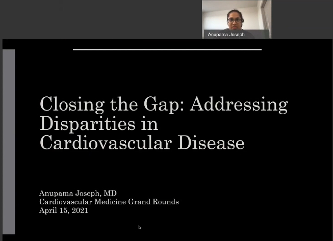 Picture from Division of Cardiovascular Medicine Grand Rounds video