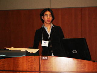 Picture from Medical Student Presentations 2009 - Session III video