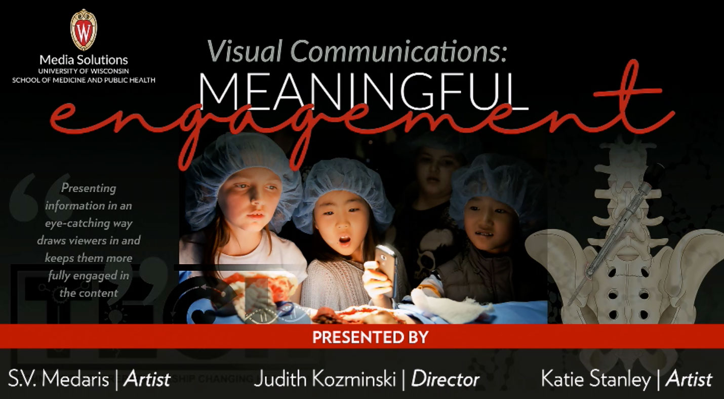 Picture from 12-12-19 SMPH Communicators CoP Meeting - Visual Communications: Meaningful Engagement video