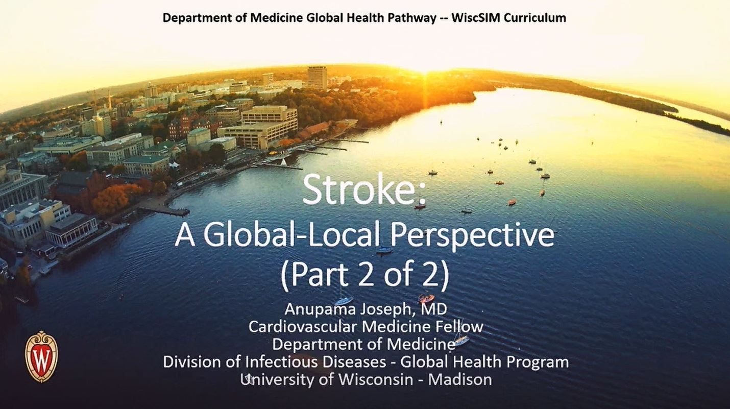 Picture from Internal Medicine Global Health Pathway video