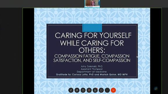 Picture from APP Grand Rounds-Caring for Yourself While Caring for Others: Compassion Fatigue, Compassion Satisfaction, and Self-Compassion