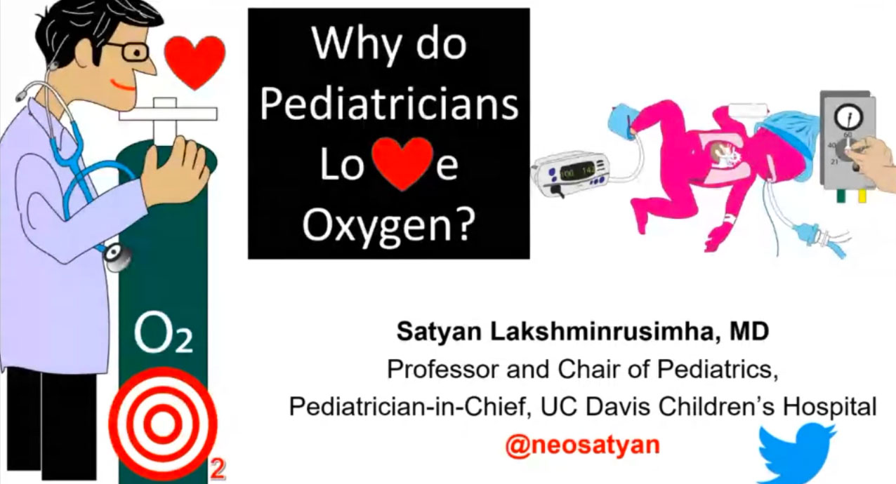 Picture from Why do Pediatricians love Oxygen? video
