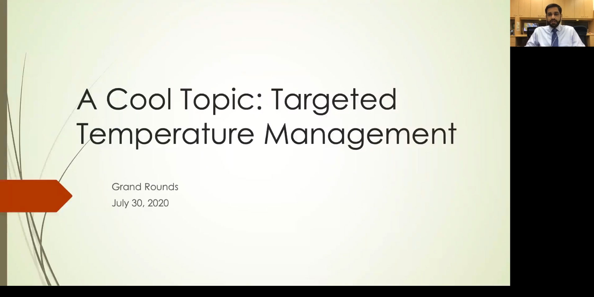 Picture from A Cool Topic: Targeted Temperature Management video