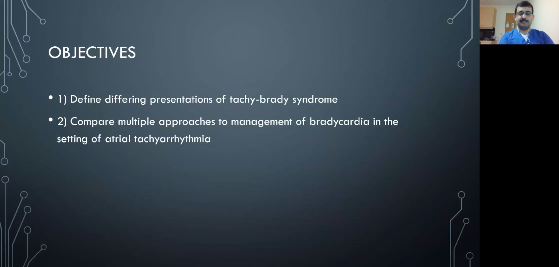 Picture from CVM Grand Rounds: Dr. Asif Jafferani video