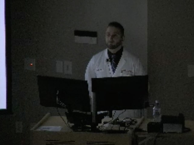 Picture from Cardiovascular Medicine Grand Rounds video