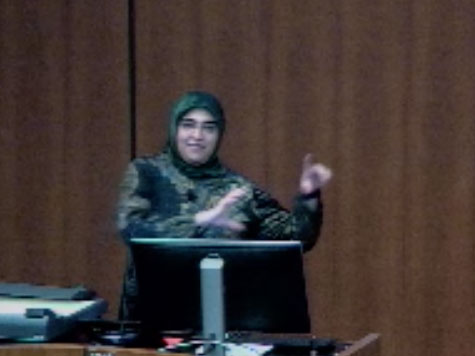 Picture from Pediatrics Grand Rounds with Nusheen Ameenuddin, MD, MPH video