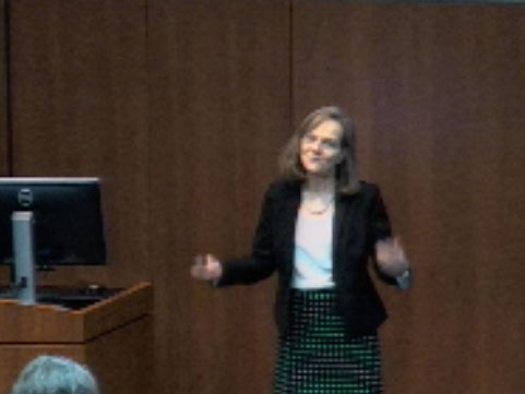 Picture from Ob-Gyn Grand Rounds, Dr. Jessica Bienstock - Teach: Touch the Future video