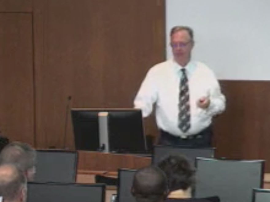 Picture from Dr. Brasier Town Hall video