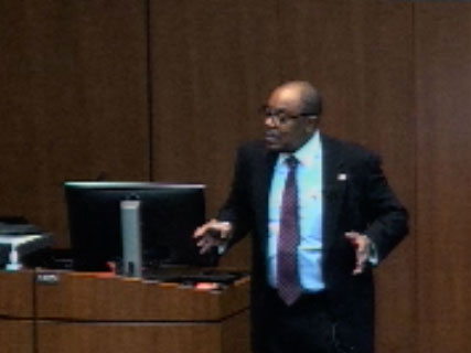 Picture from Ob-Gyn Grand Rounds, Dr. Haywood Brown, Challenges in Achieving Equity in Health Outcomes video