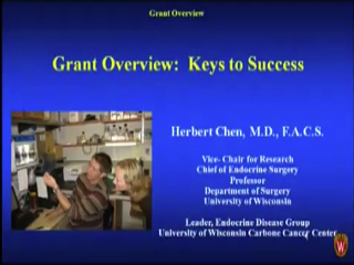 Picture from Grant Overview: Keys to Success