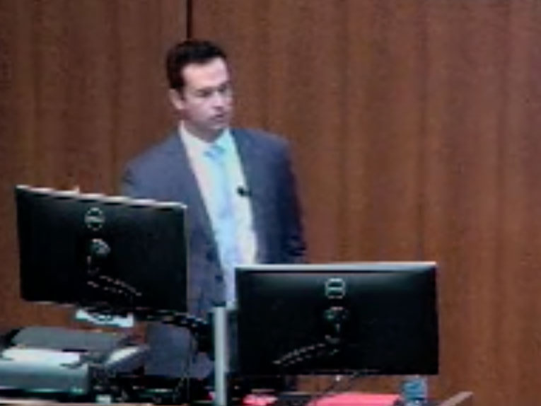 Picture from Keith Choate - Chair of Dermatology Scientific Seminar video