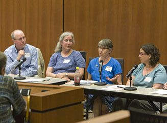 Picture from University of Wisconsin Librarian Reference Retreat - Directors' Panel video
