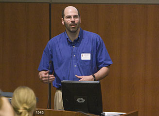Picture from University of Wisconsin-Madison Librarian Reference Retreat - Updates video