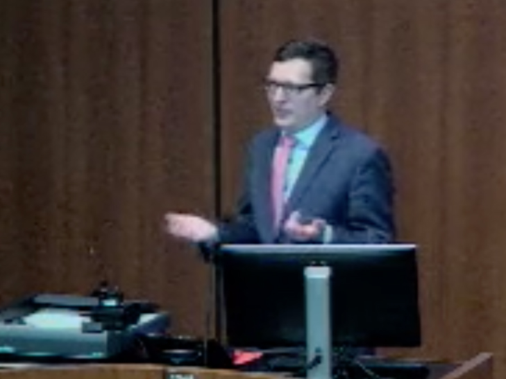 Picture from Department of Surgery Grand Rounds video