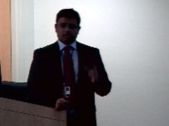 Picture from Neurology Grand Rounds video