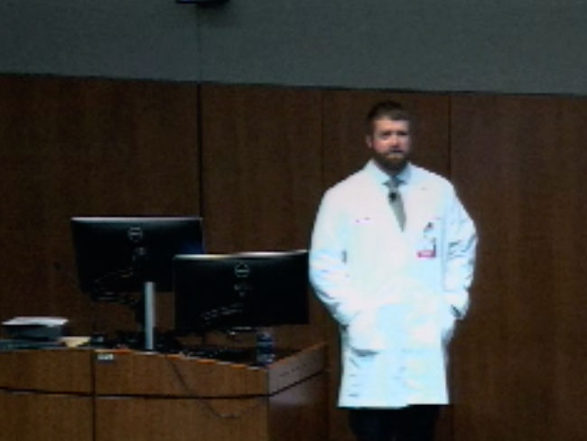 Picture from Department of Anesthesiology Grand Rounds video