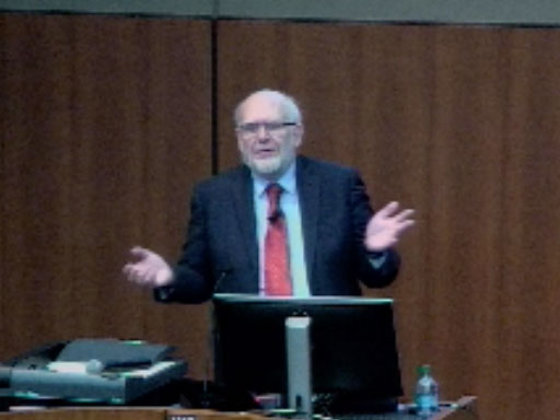 Picture from Pediatrics Grand Rounds with Stephen Meyn, MD, PhD