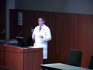 Picture from What Would You Do? - Department of Ophthalmology and Visual Sciences Grand Rounds video