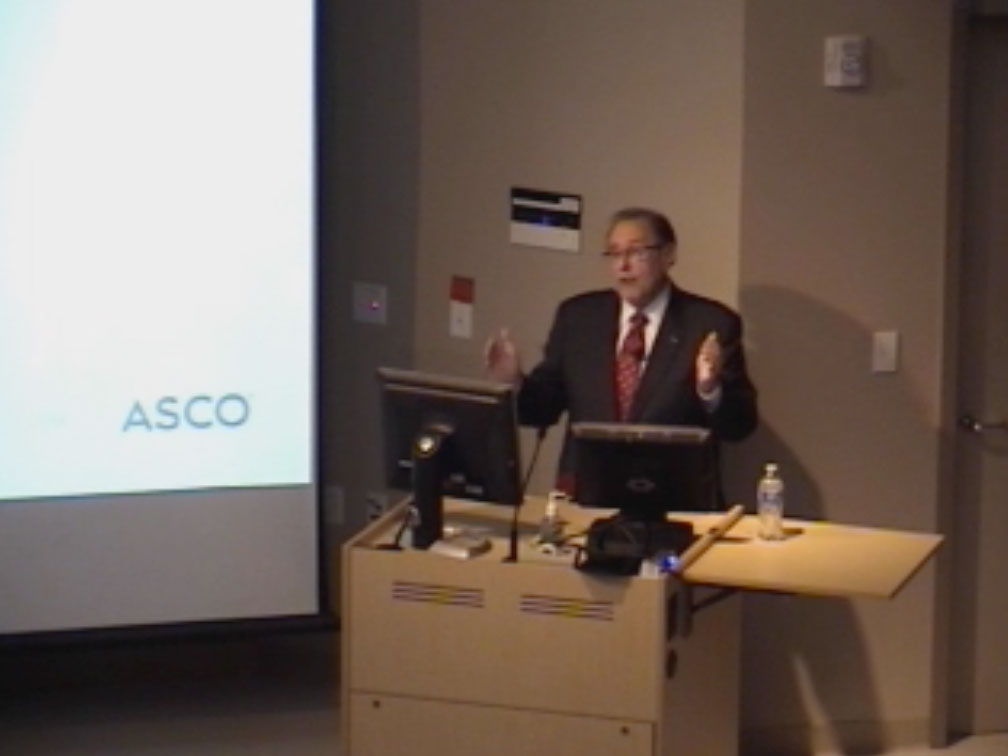 Picture from ASCO Initiatives in Precision Medicine video