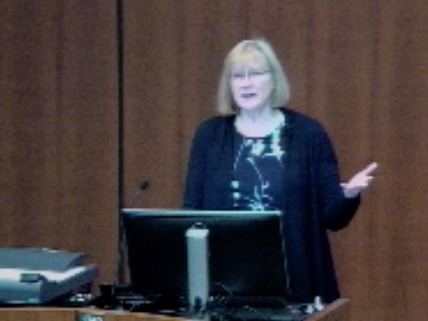 Picture from Pediatrics Grand Rounds with Dr. Sue Swedo