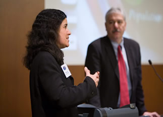 Picture from Global Health at the University of Wisconsin Madison:  2007 Global Health Symposium video