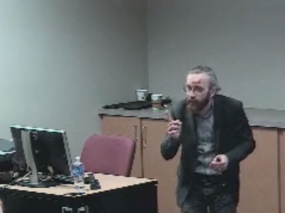 Picture from ADRC Seminar: New CSF and Plasma Biomarkers for Neurodegenerative Diseases video