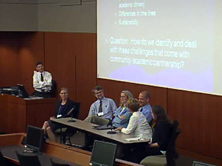 Picture from Panel Discussion: Preventing Obesity, It Takes a Village...