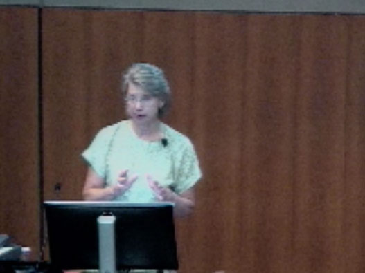 Picture from Pediatrics Grand Rounds with Dr. Sharon Bartosh video
