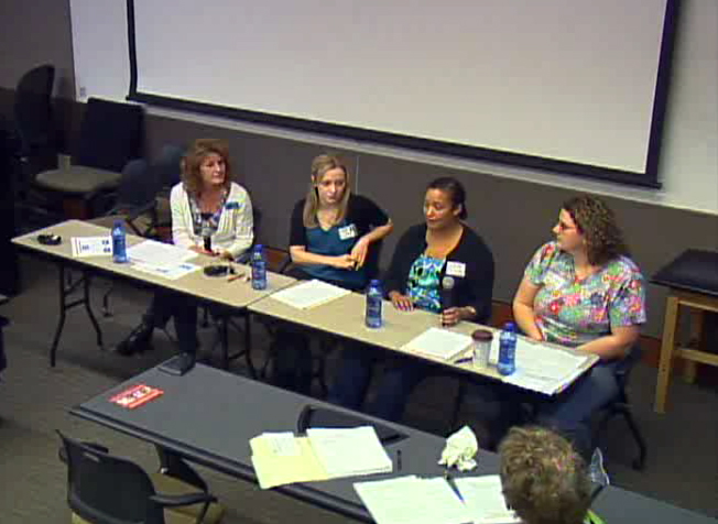 Picture from Long Term Care Clinical Scholar Info Session video