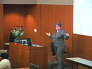 Picture from Littlefield Leadership Lecture Series: Leading with Technology video