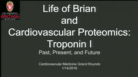 Picture from Life of Brian and Cardiovascular Proteomics: Tropononin I, Past, Present Future