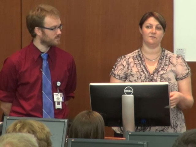 Picture from GME Orientation: UW House Staff Association video