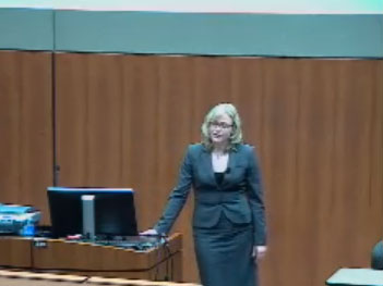 Picture from Dr. Cindy Carlsson's Town Hall Meeting video