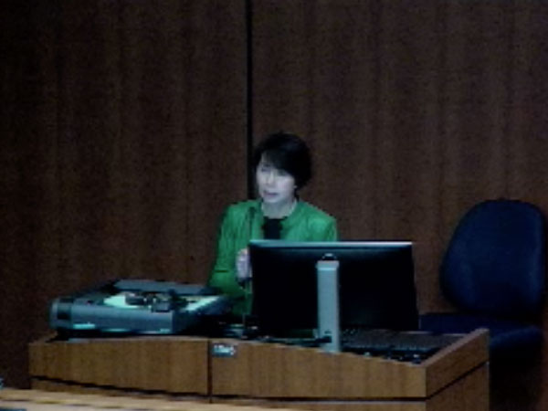 Picture from Visiting Professor Dr. Emily Chew video