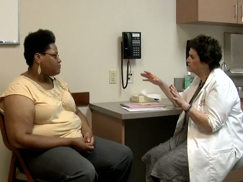 Picture from Patient Interview: Chief Concern and History of Present Illness video