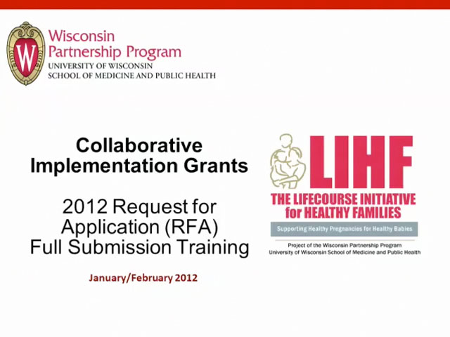 Picture from LIHF - Collaborative Implementation Grants