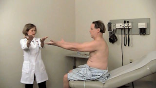 Picture from Neurologic Exam: Complete Neurologic Exam video