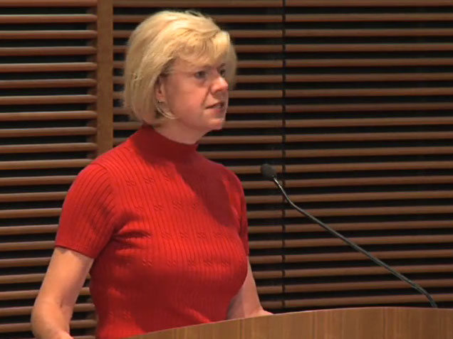 Picture from Health Care Reform: A Conversation with Congresswoman Tammy Baldwin video