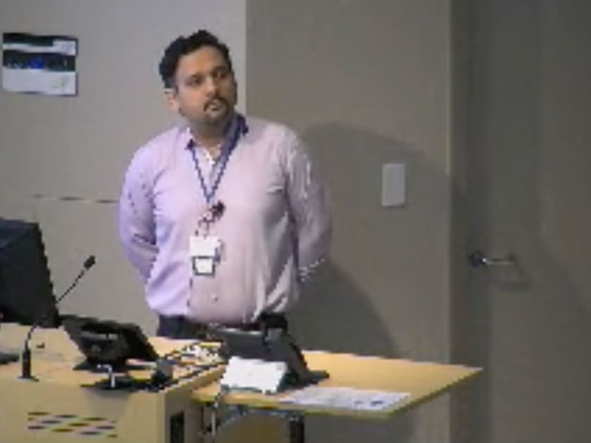 Picture from CVM Fellowship Research Showcase video