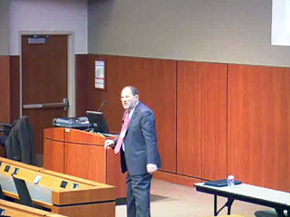 Picture from Business of Medicine Conference Presented by GME - Macro-Economics of Health Care Conference video