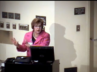 Picture from January 2012 Employee Forums video