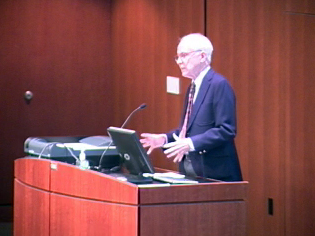 Picture from Bioethics Symposium Welcome (2011) video