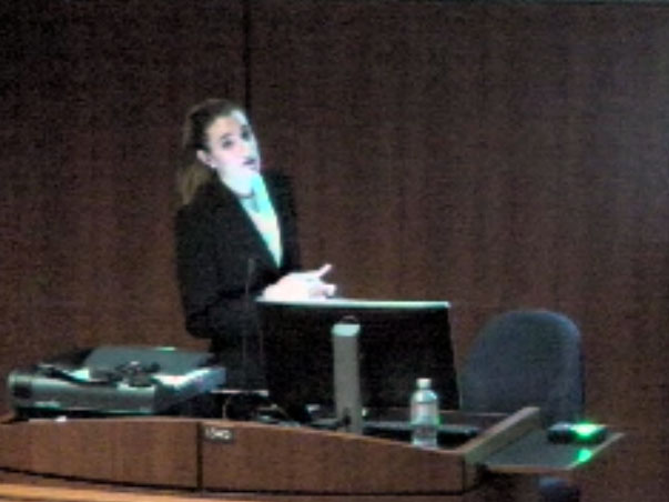 Picture from Guest Speaker Dr. Debora Garcia, Illinois Eye and Ear Infirmary video