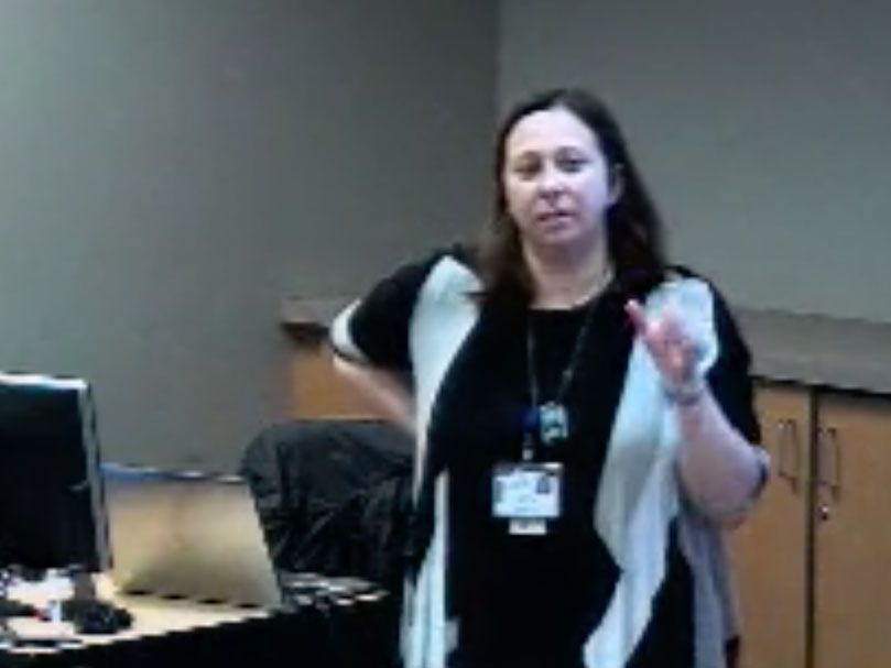Picture from Core Lecture: Home-Based Medical Care, Part 1 video