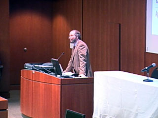 Picture from Bioethics Symposium Welcome video