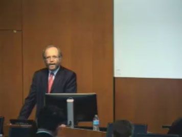 Picture from 2015 Bioethics Symposium Opening Remarks video