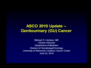 Picture from ASCO Updates - Genitourinary Cancer video