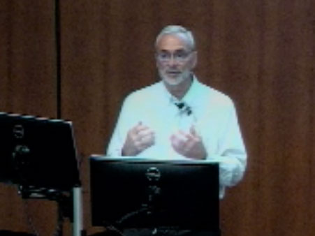 Picture from Department of Pediatrics Grand Rounds - Iams Lecture video