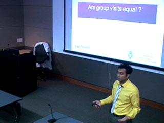 Picture from Group Visits in Chronic Disease Management video